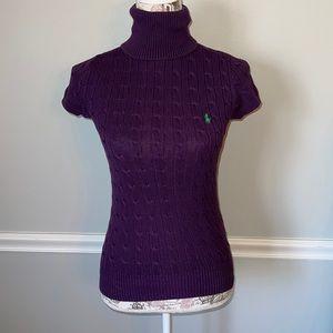 Ralph Lauren Sport Purple Small Short Sleeve
